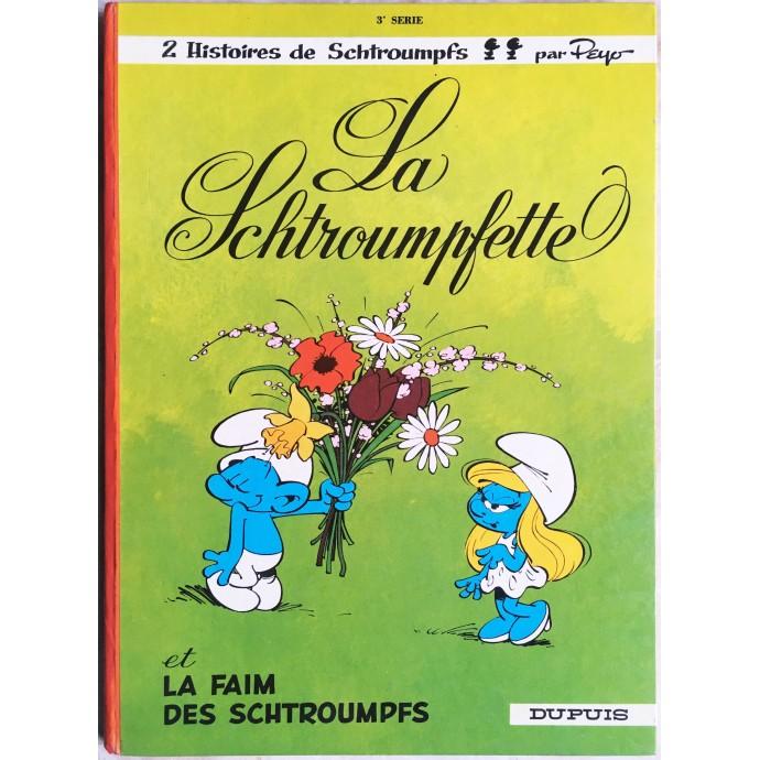 Schtroumpfs (les) EO 1967 La Schtroumpfette