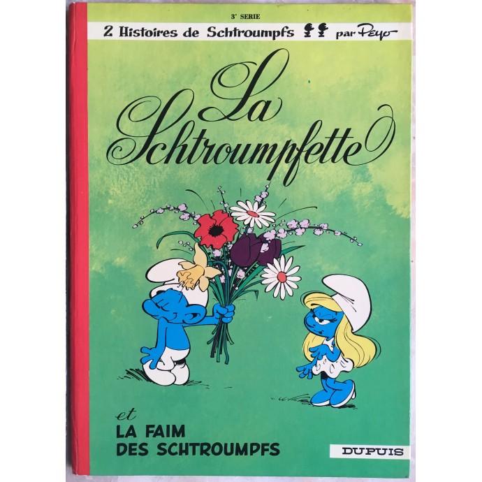 Schtroumpfs (les)  La Schtroumpfette Rééd. 1972