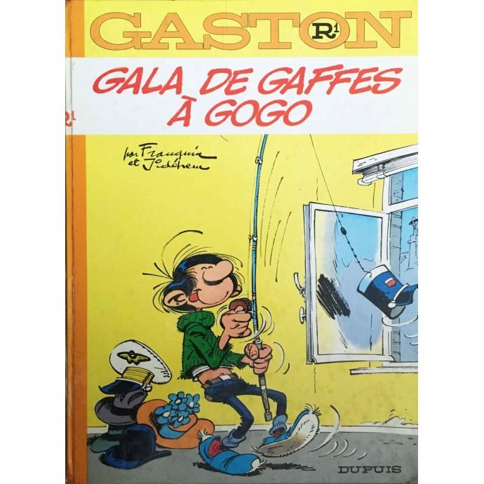 GASTON - Gala de gaffes à gogo - EO 1970 - 1