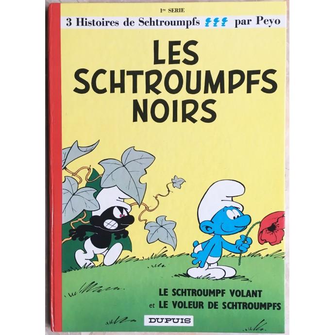 Schtroumpfs (les)  Les Schtroumpfs noirs Rééd. 1975