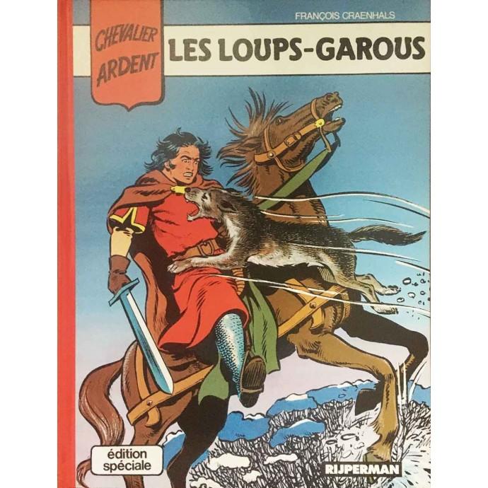 Chevalier Ardent - Les loups -garous - 1ère édition couleurs - 1988 - 1