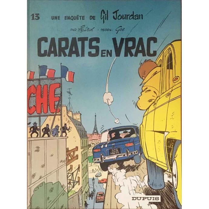 Gil Jourdan - Carats en vrac - 1986 - 1