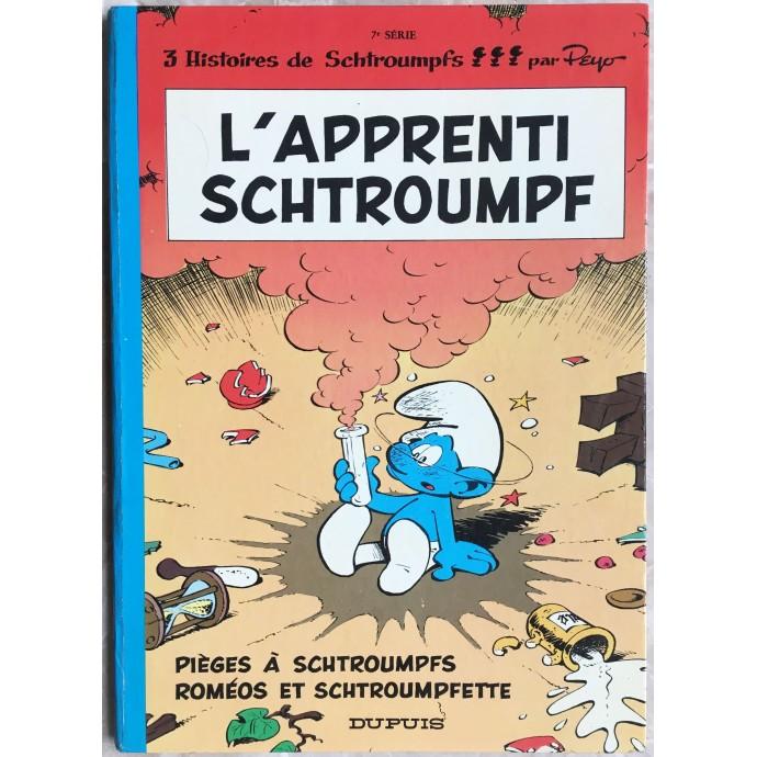 Schtroumpfs (les) EO 1971 L'apprenti Schtroumpf