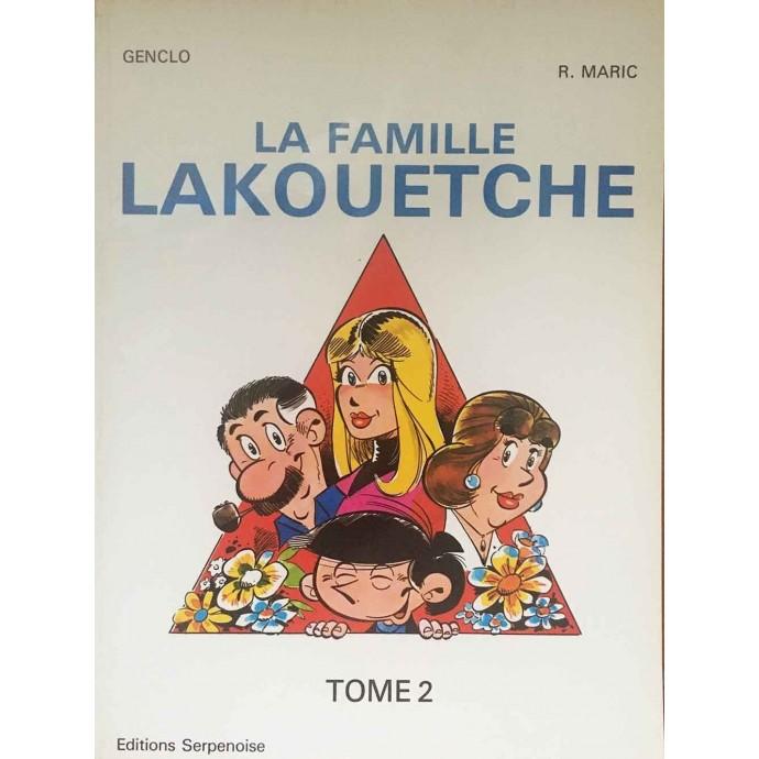 Famille LAKOUETCHE - Tome 2 - EO 1983 + Dédicace - 1