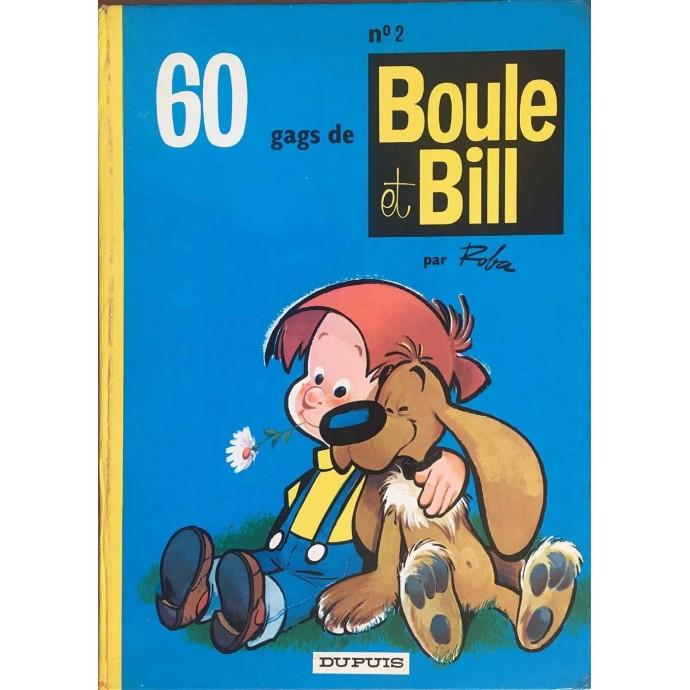 Boule et Bill - 60 gags de Boule et Bill n° 2 - 1975 - 1