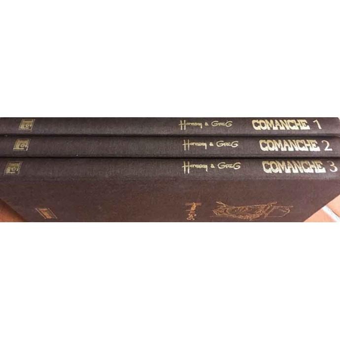 Comanche - The Whole Story en 3 volumes - TL 1988 - 2