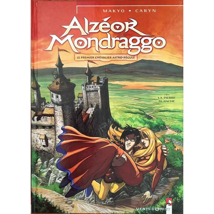 Alzeor Mondraggo - La pierre blanche - EO 2001 + Dédicace - 1