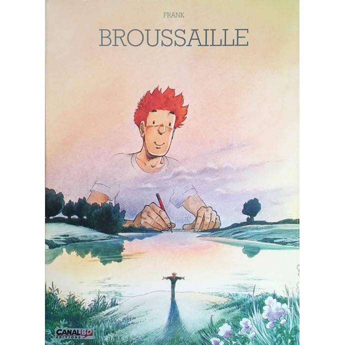 Broussaille - Un Faune sur l'épaule -TL 2003 + portfolio- CanalBD - 1