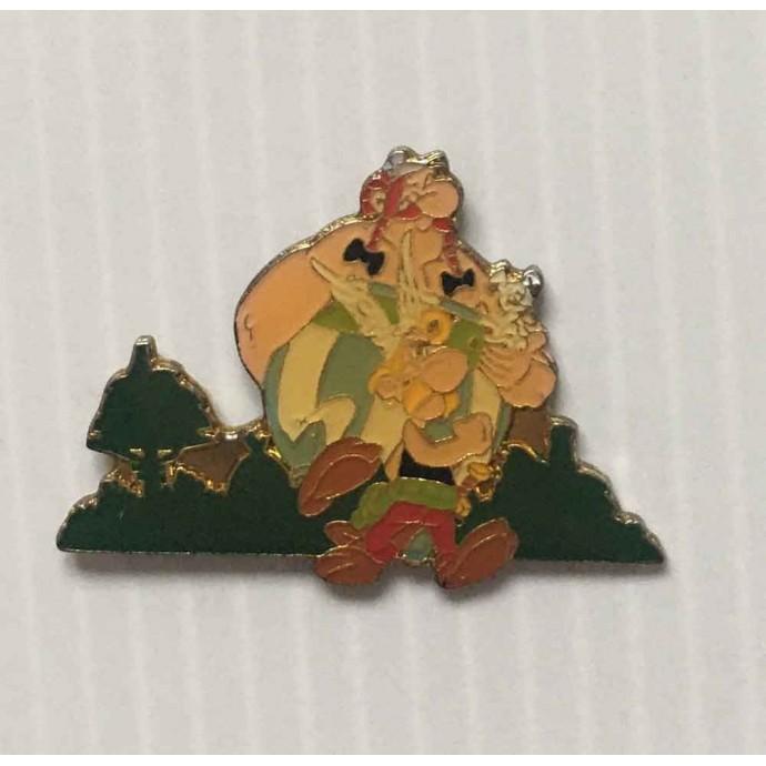 Astérix - pin's: Astérix, Obélix et Idéfix - 1991 - 1