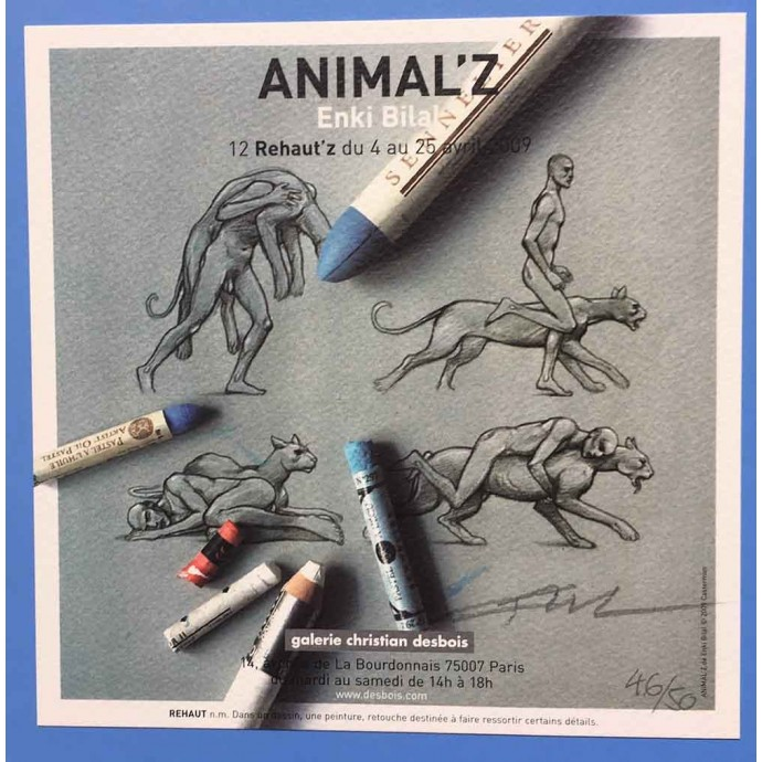 Animal'z - Bilal - TL 2009 + Coffret CanalBD + ex-libris - 4