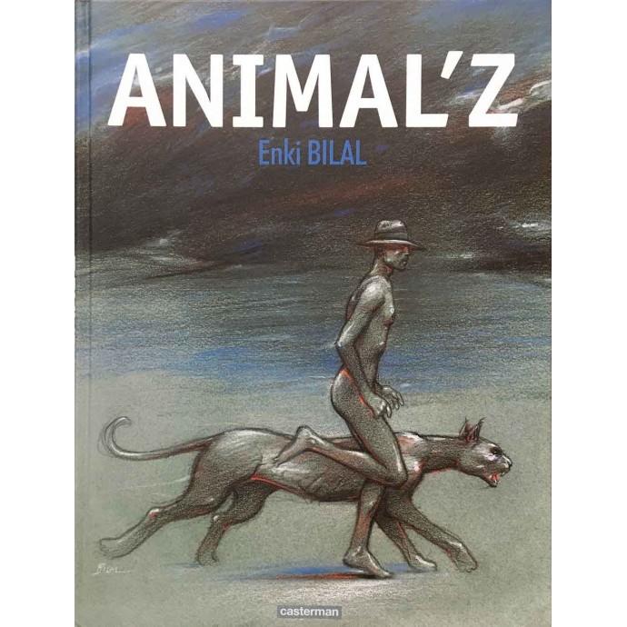 Animal'z - Bilal - TL 2009 + Coffret CanalBD + ex-libris - 5