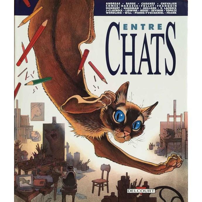Entre Chats - EO 1989 + jaquette - 1