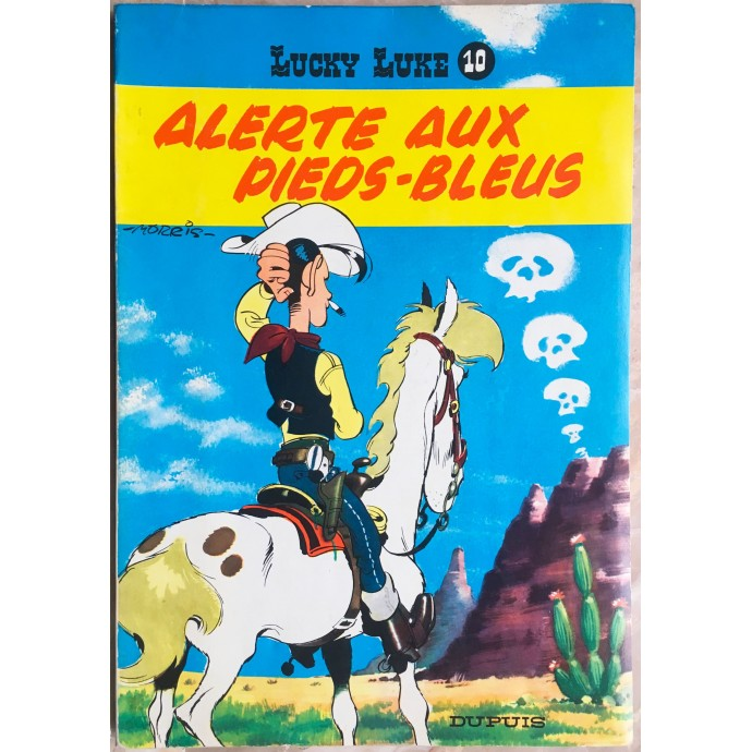 Lucky Luke Alerte aux Pieds-Bleus Rééd. 1964