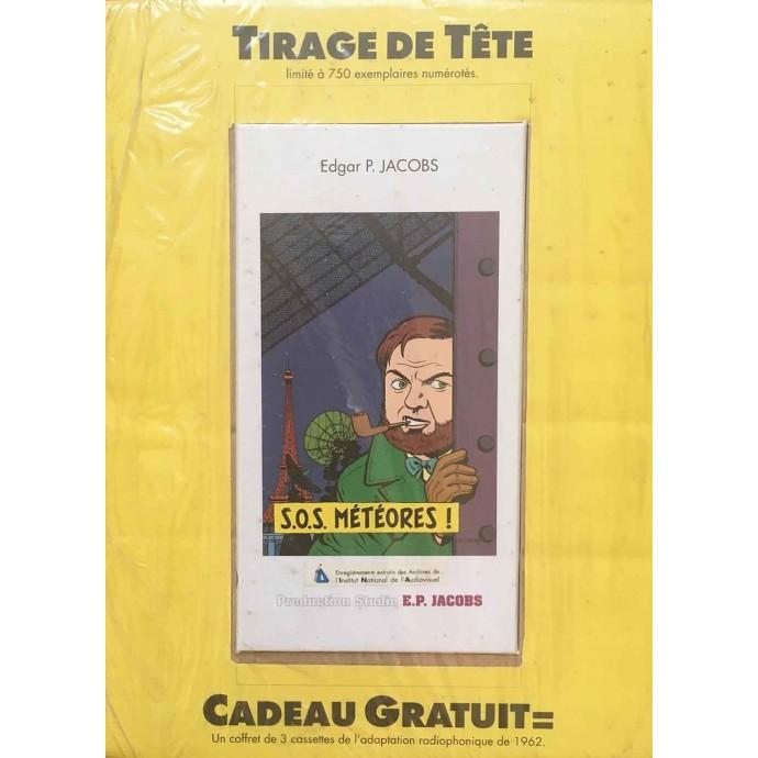Blake et Mortimer - S.O.S. Météores - TT 1989 + coffret 3 cassettes - 1