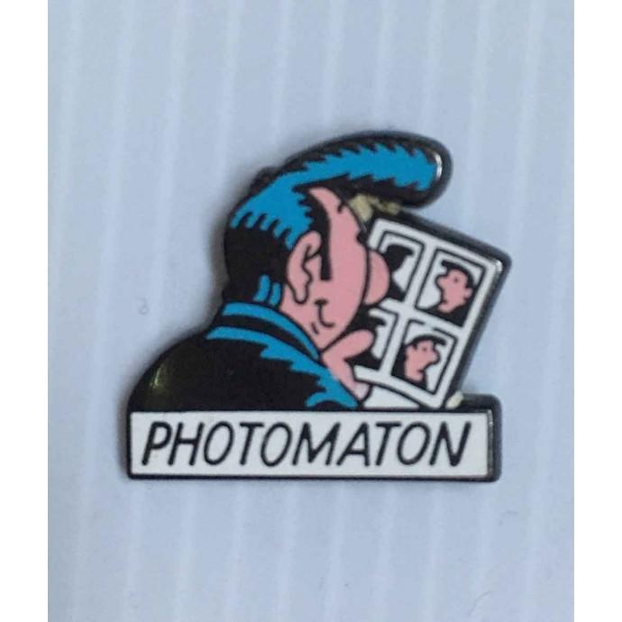 Margerin - pin's: Lucien - Pub Photomaton 1991 - 1