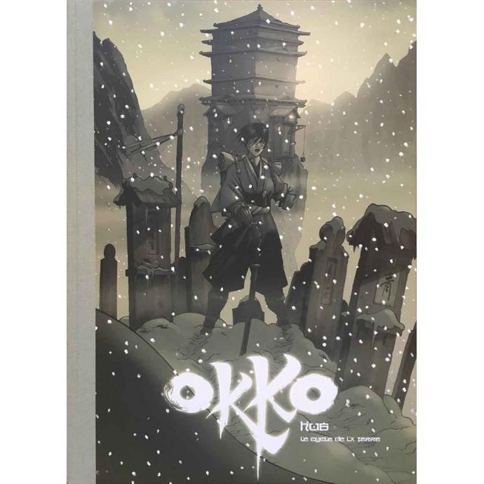 Okko - Le cycle de la terre intégrale - TL 2008 - Bruno Graff + ex-libris - 1