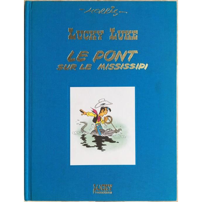 """Lucky Luke """"Le Pont sur le Mississipi"""""""