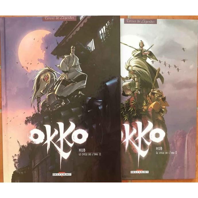 Okko - Le cycle de l'eau les 2 tomes en EO 2005/2006 + coffret - 2