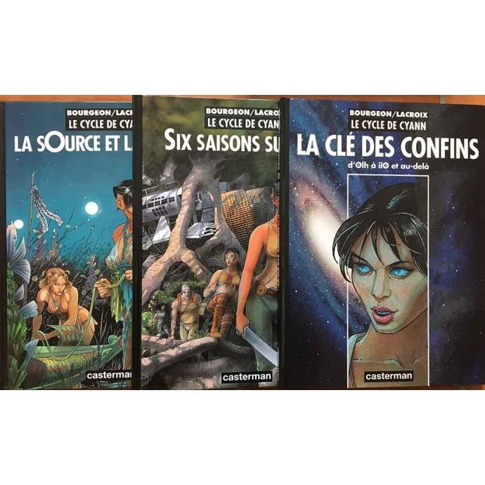 Cycle de Cyann - Coffret CanalBD + EO tomes 1 et 2 + HS Clé des confins -1997 - 2