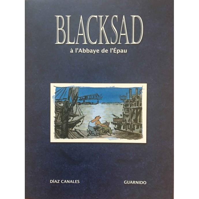 Blacksad à l'Abbaye de l'Epau - Ex-Libris -TL Bulle le Mans - 2010 - 1