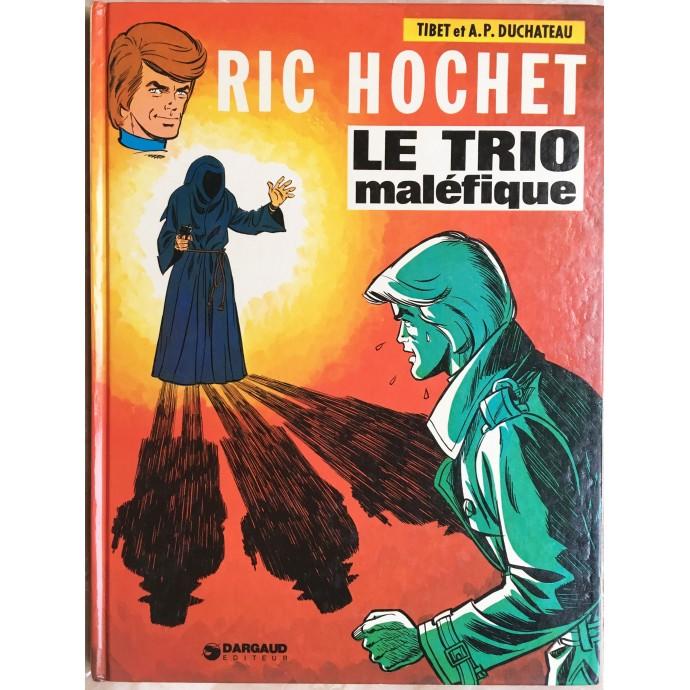 Ric Hochet EO 1975 Le Trio maléfique