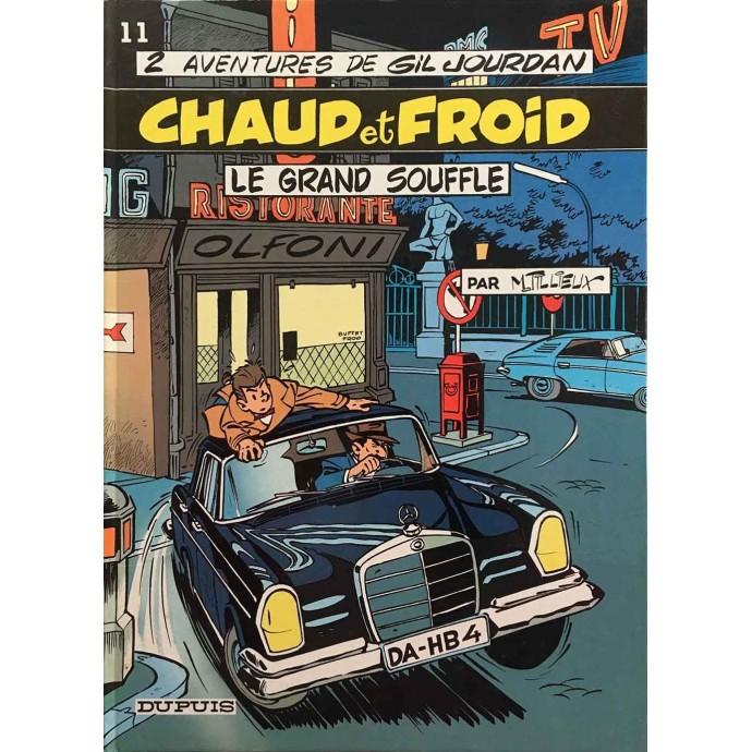 Gil Jourdan - Chaud et Froid + Le Grand Souffle - 1986 - 1