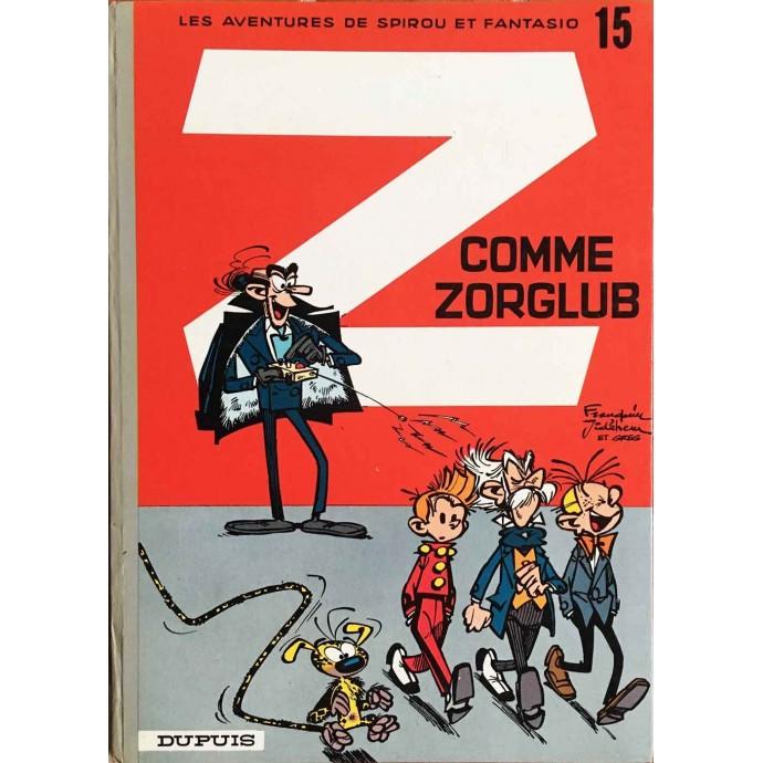 Spirou et Fantasio - Z comme Zorglub - 1972 - 1