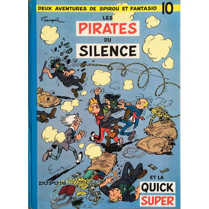 Spirou et Fantasio - Les Pirates du silence - 1964 - 1