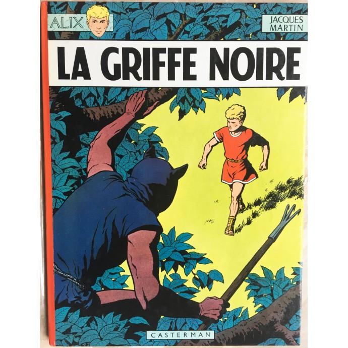 ALIX La Griffe noire Rééd. 1968