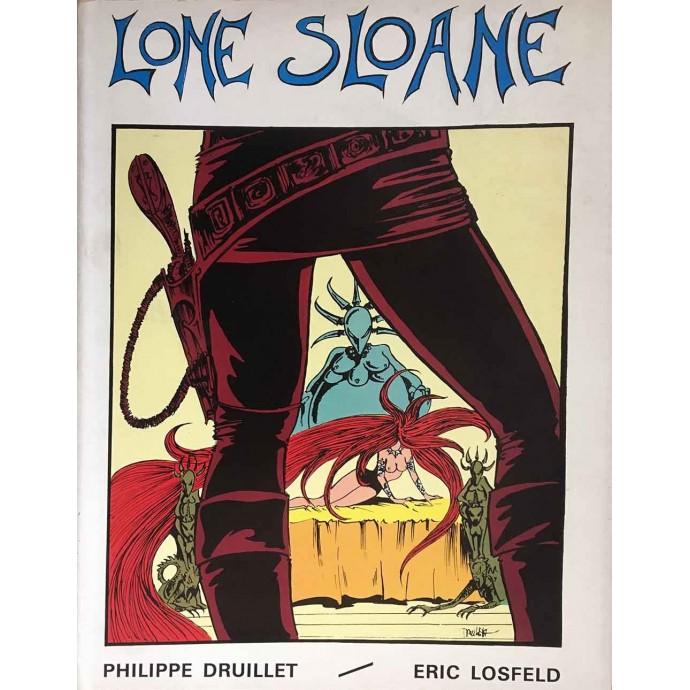 Lone Sloane - Le Mystère des abîmes - EO 1966 avec jaquette - 1