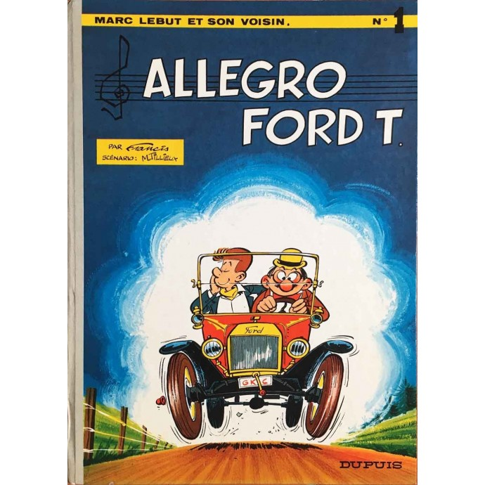 Marc LEBUT - Allegro Ford T - EO 1968 - 1