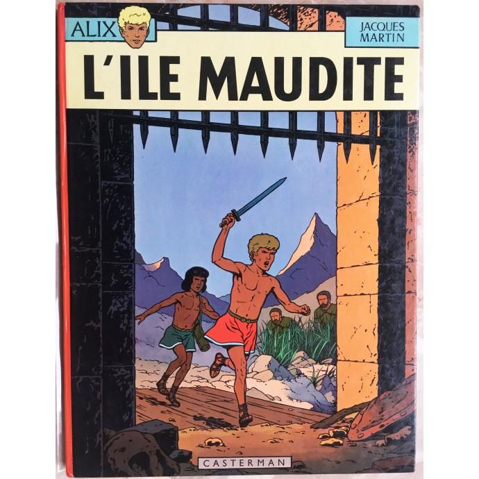ALIX l'île maudite Rééd. 1969