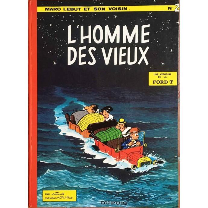 Marc LEBUT - L'Homme des vieux - EO 1969 - 1