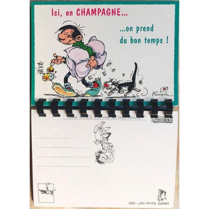 Gaston Fûté - Carnet de Cartes Postales, région Champagne - 1996 - 1
