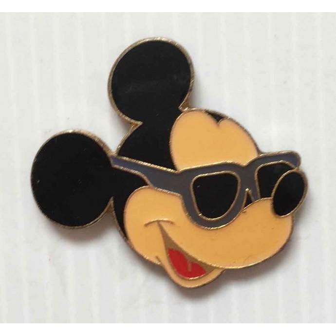 Mickey - Walt Disney - pin's: Mickey avec lunettes de soleil - 1
