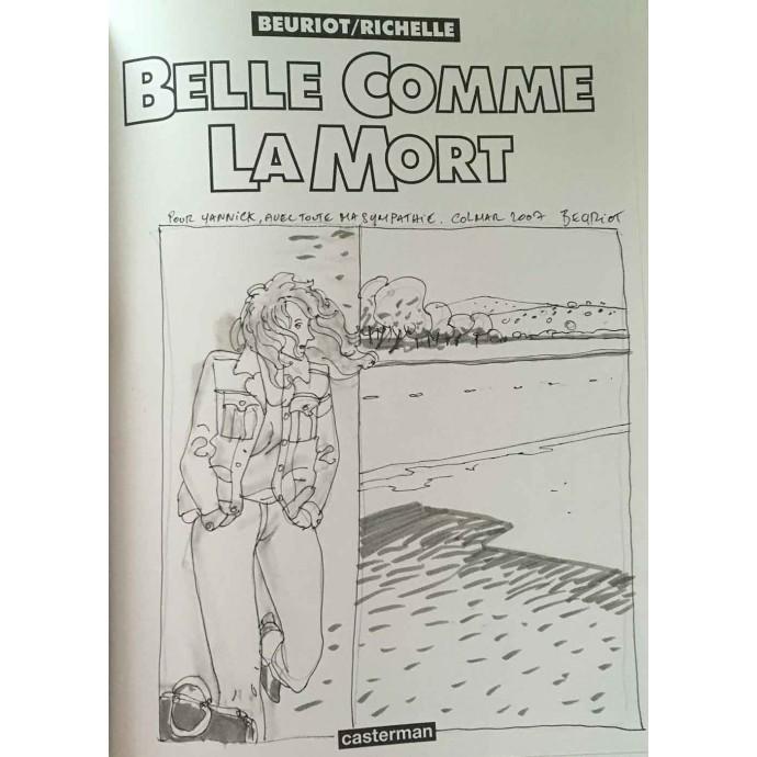 Belle comme la mort - EO 1995 + Dédicace - 2