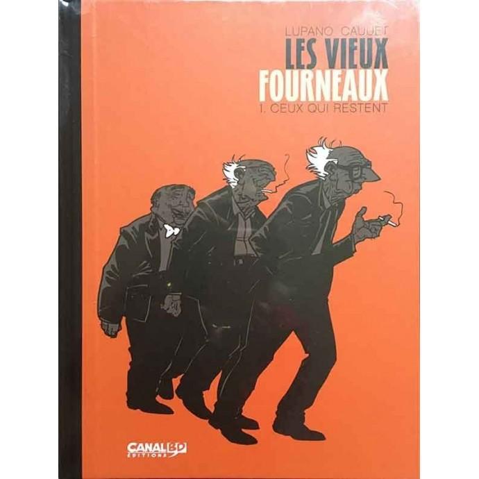 Vieux Fourneaux (les) - Ceux qui restent - TT 2014 + ex-libris CanalBD - 1