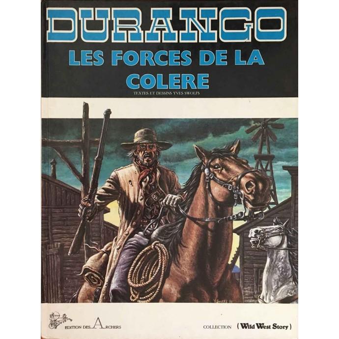 Durango - Les Forces de la Colère - EO 1982 - 1