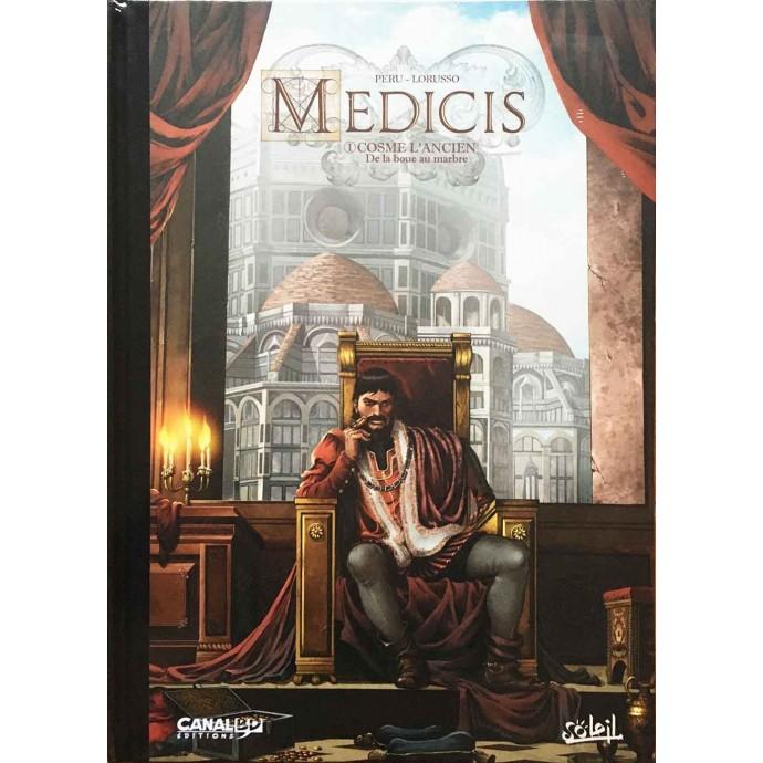 Médicis - Cosme L'Ancien - TL 2017 + ex-libris CanalBD - 1