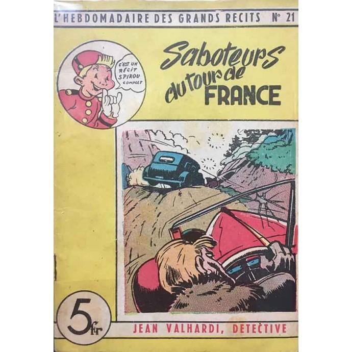 Spirou - Hebdomadaire des Grands Récits - Jean Valhardi, détective N°21- EO 1948 - 1