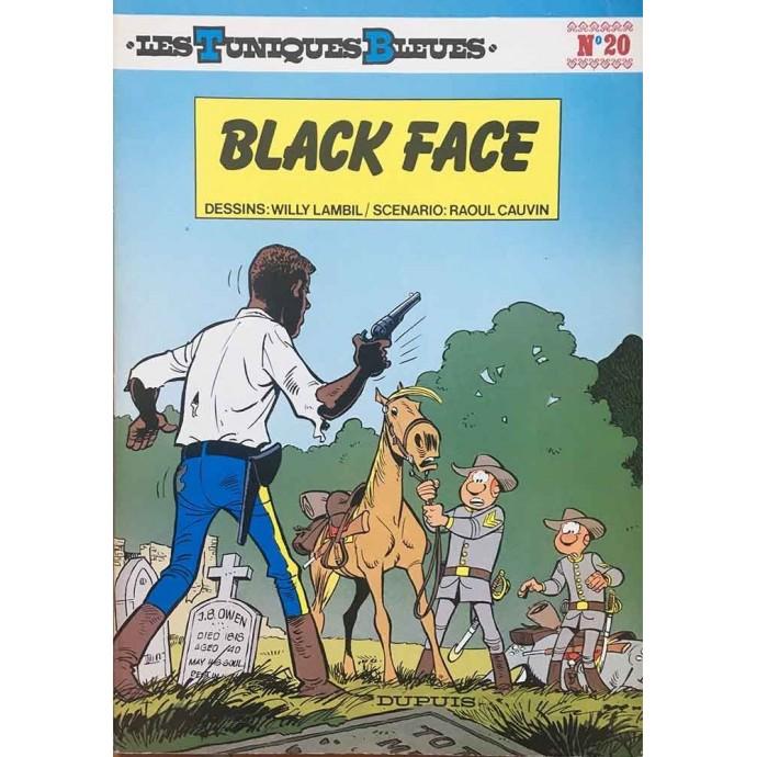 Tuniques Bleues (les) - Black Face - EO 1983 - 1
