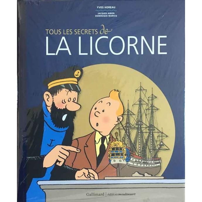 Tintin - Tous les secrets de la Licorne - EO 2017 - 1
