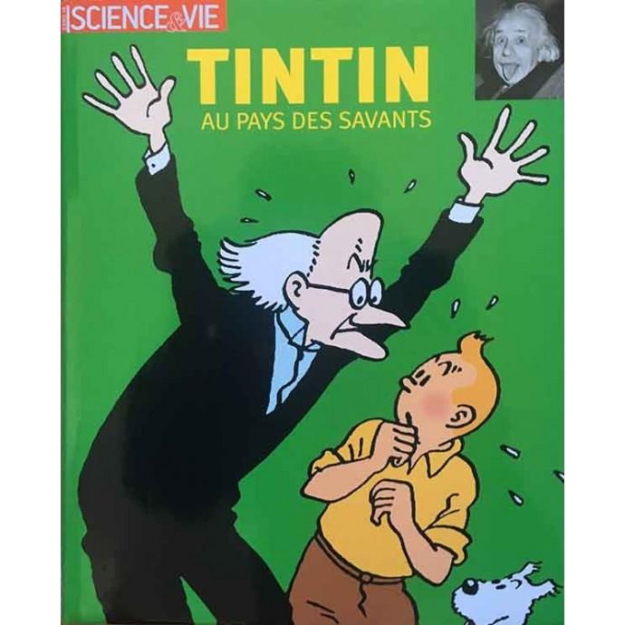 Tintin au Pays des Savants- Science et Vie - EO 2003 + jaquette - 1