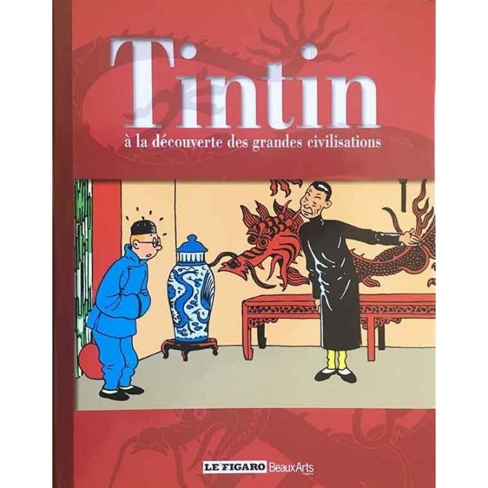 Tintin à la découverte des grandes civilisations - 2010 + jaquette - 1