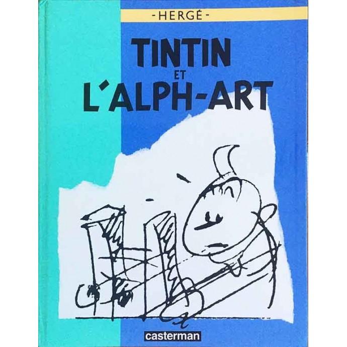 Tintin et l'Alph-Art - EO 1986 - 1