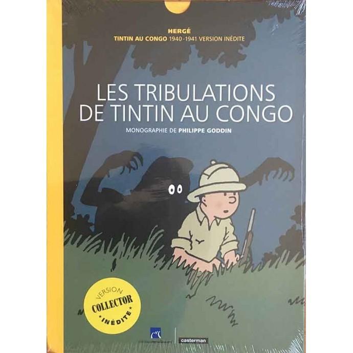 Hergé - Les Tribulations de Tintin au Congo - EO 2018 + coffret - 1