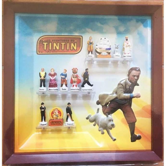 Tintin - Coffret Collector de 12 fèves en porcelaine - 2011 - 1
