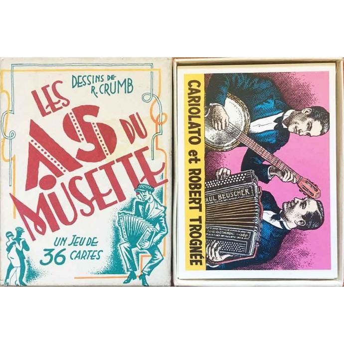 Crumb - Jeu de 36 cartes - Les As du Musette - 1994 - 1