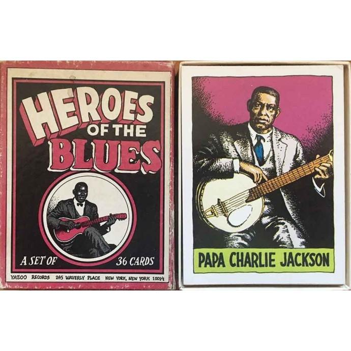 Crumb - Jeu de 36 cartes - Heroes of the Blues - 1980 - 1