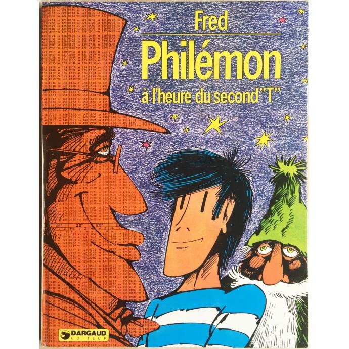 """Philémon EO 1975 Philémon à l'heure du second """"T"""""""